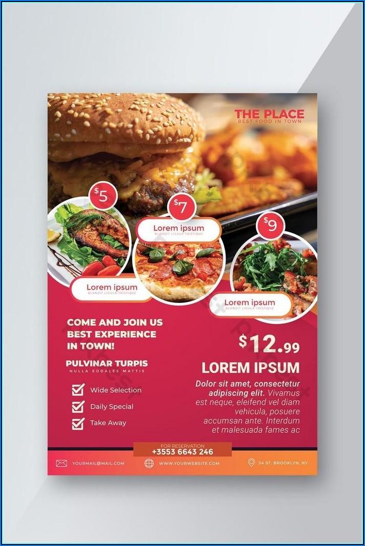 Free Restaurant Flyer Templates