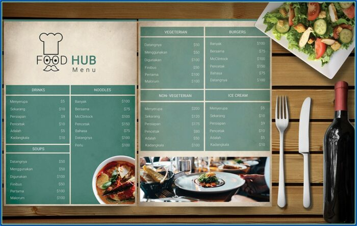 Free Restaurant Menu Flyer Templates