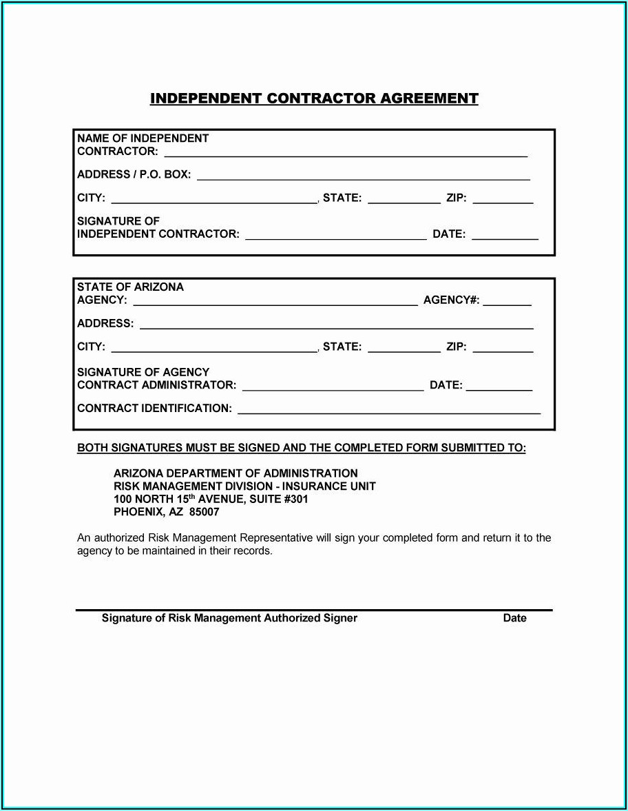 General Contractor Forms Templates