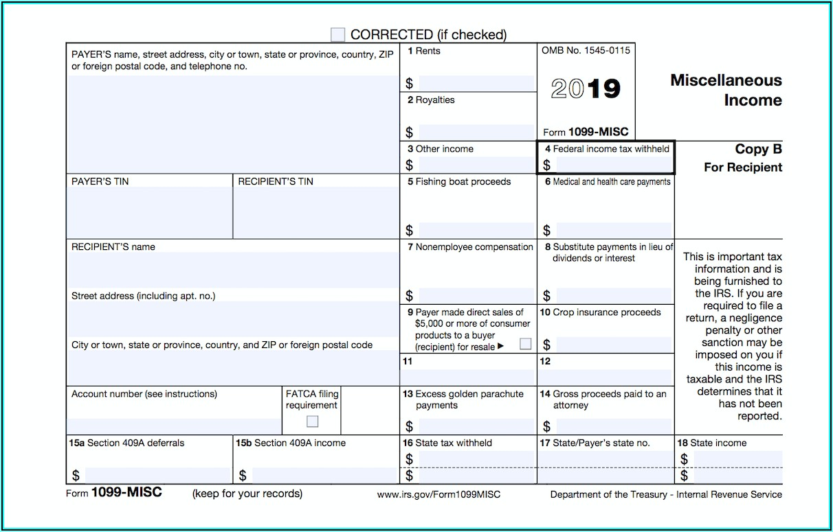 How To File A Corrected Form 1099 Misc