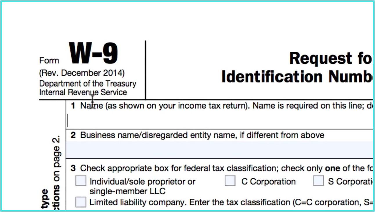Https Www.irs.gov Form W 9