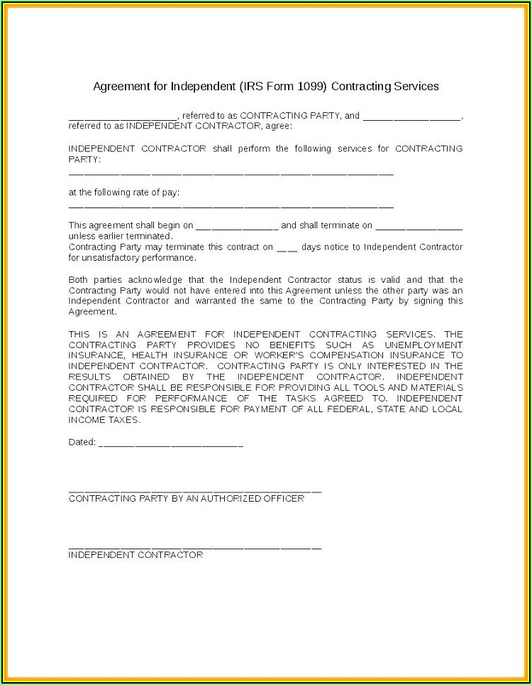 Independent Sales Consultant Agreement Template