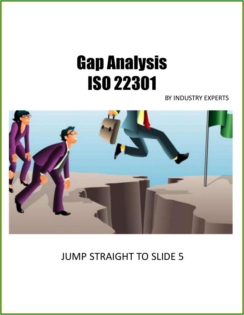 Iso 22301 Gap Analysis Checklist Xls