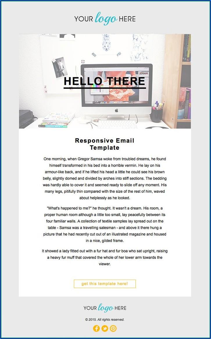 Mailchimp Responsive Template Code