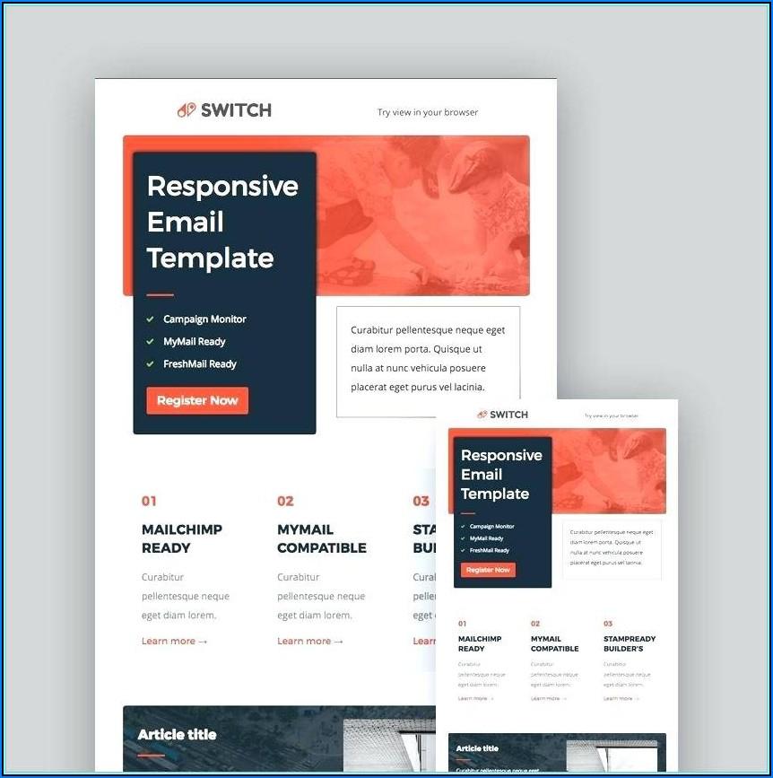 Mailchimp Templates Responsive Free