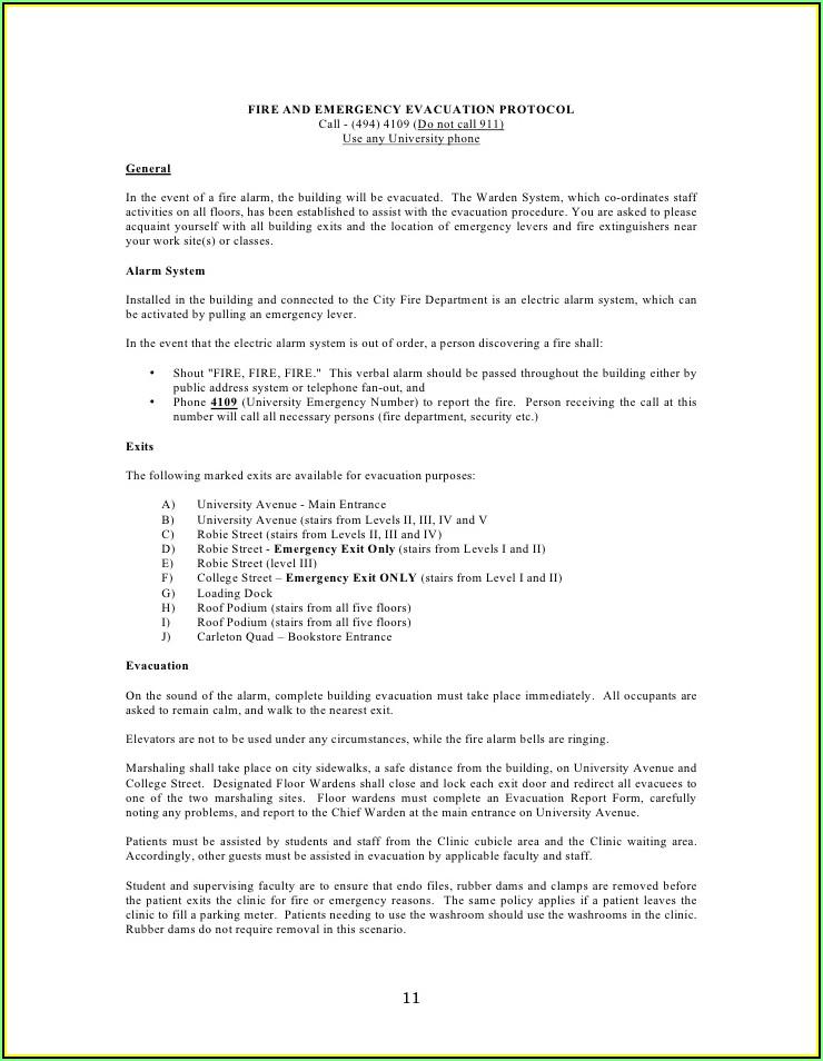 Medical Office Procedure Manual Template