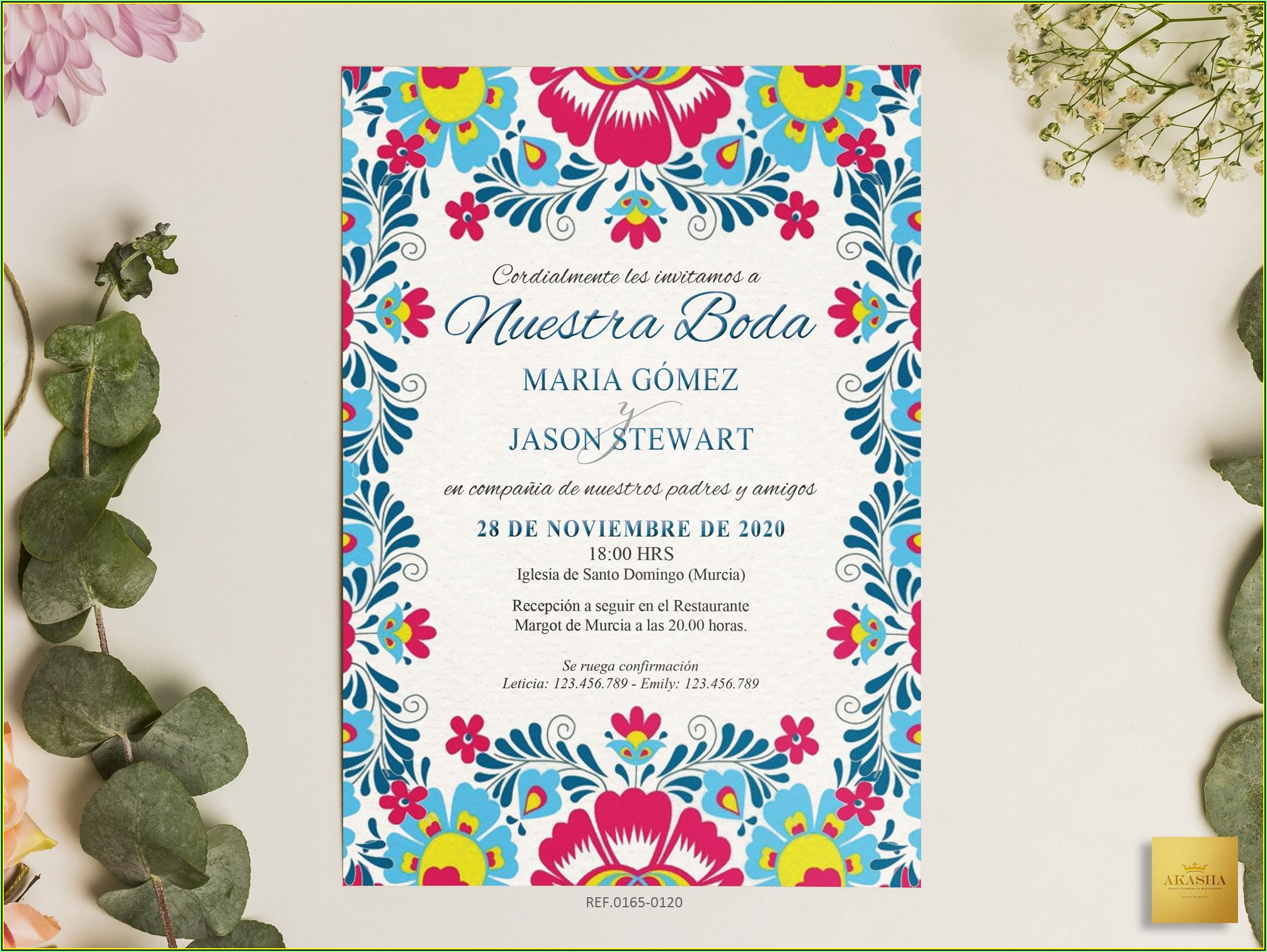 Mexican Theme Invitation Template