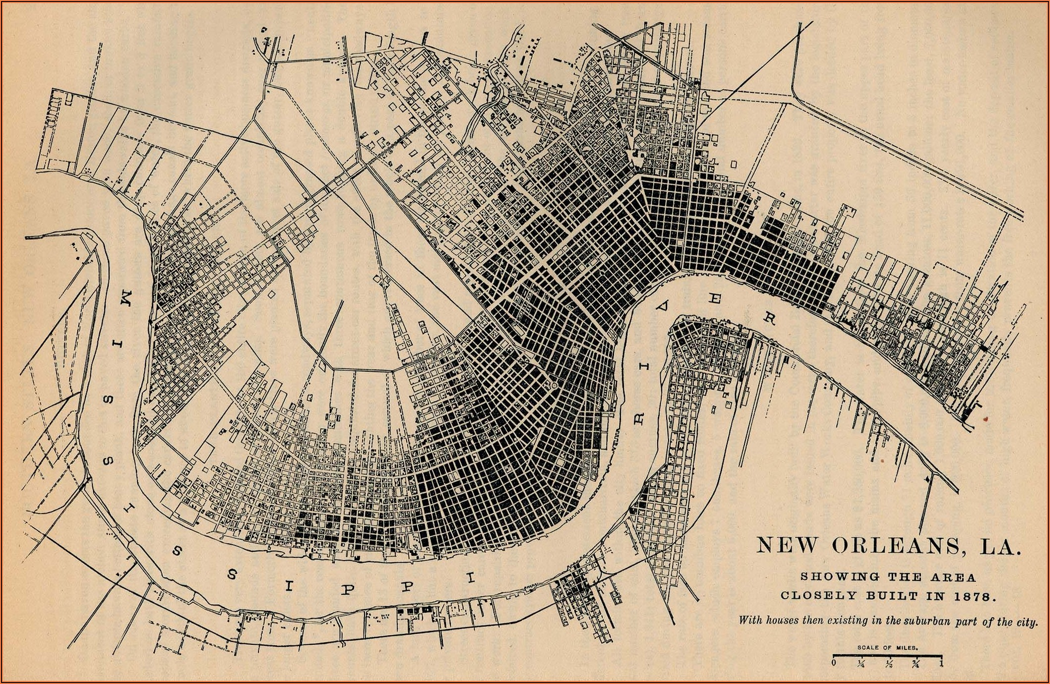 New Orleans Old Maps