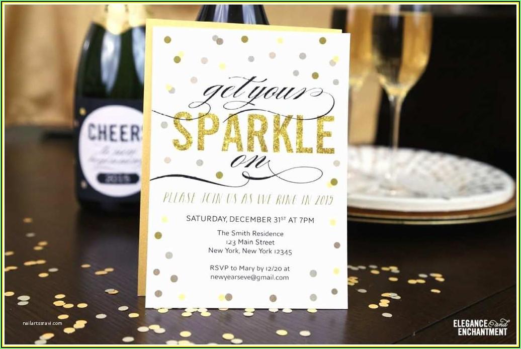 New Year Eve Invitation Templates Free