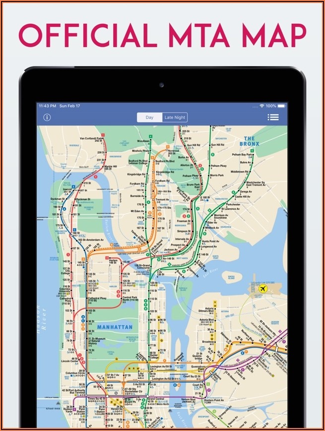 New York Subway Mta Map App