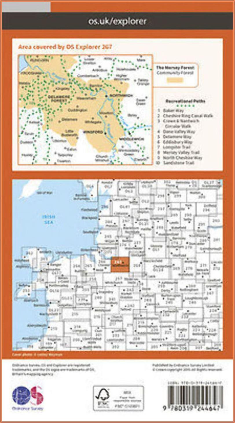 Old Ordnance Survey Maps For Sale Uk