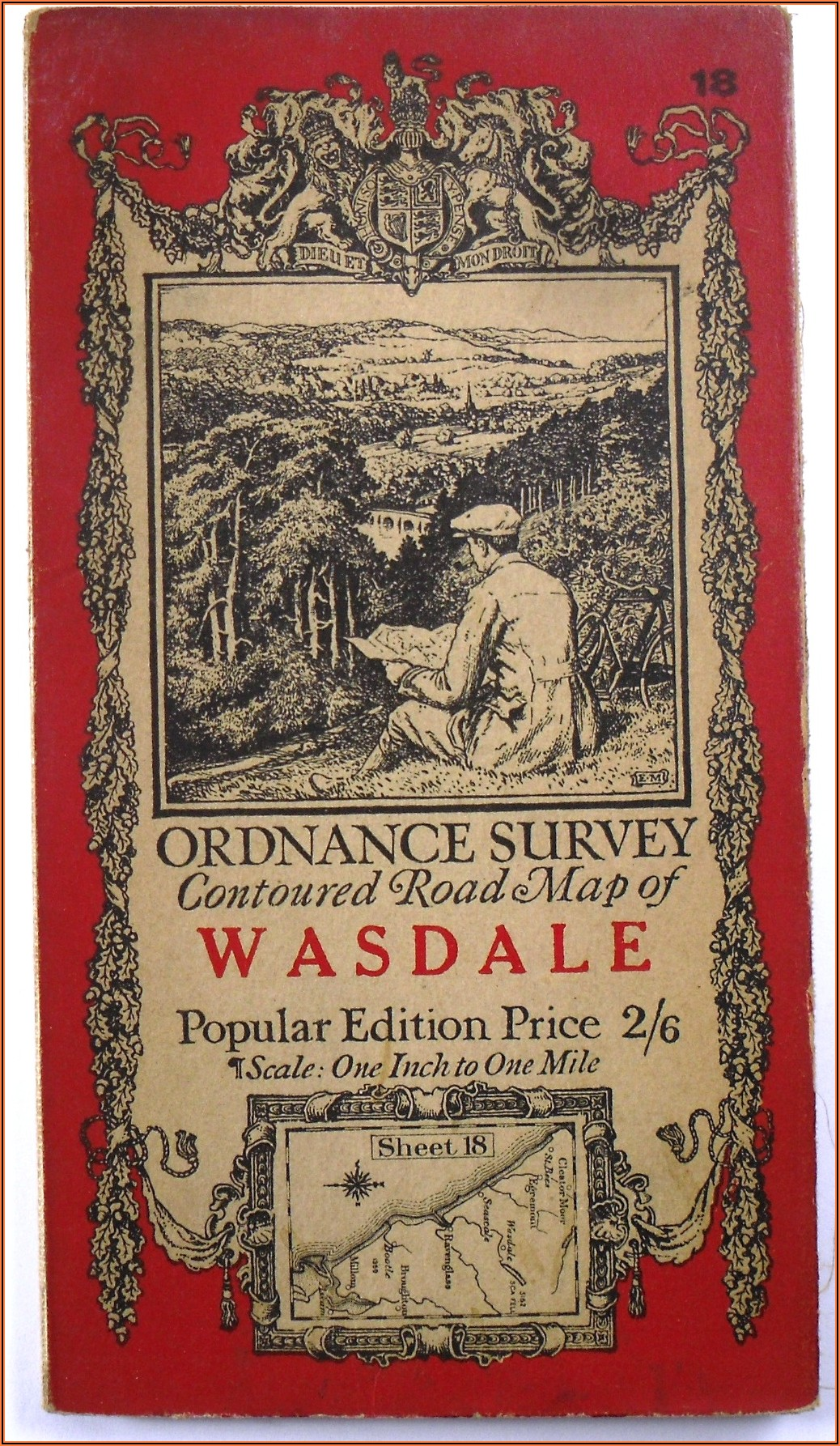 Old Ordnance Survey Maps To Sell