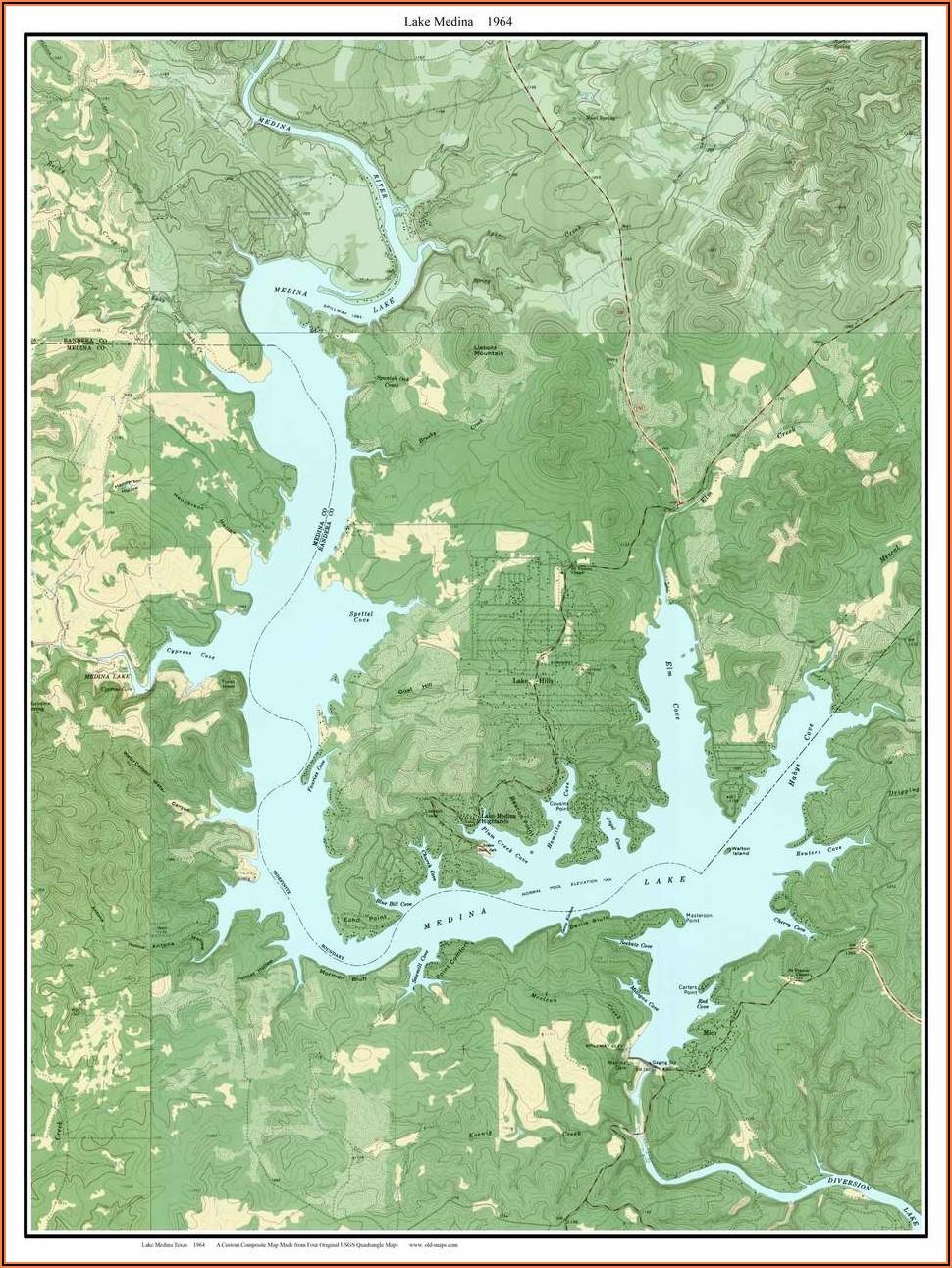 Old Texas Topo Maps