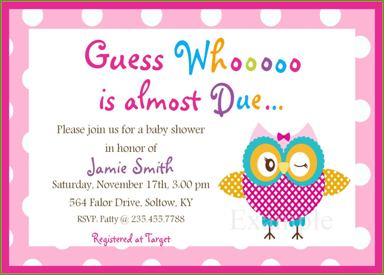 Princess Baby Shower Invitation Templates Free