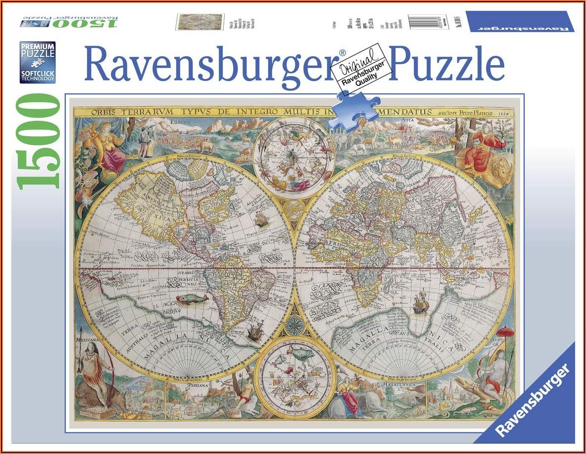 Ravensburger World Map Puzzle 2000pc