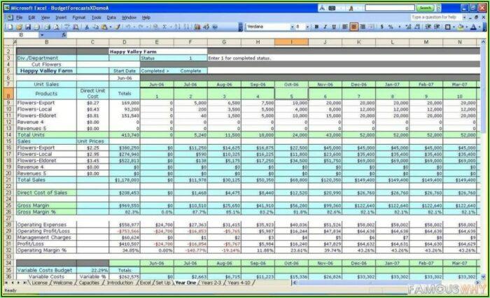 Road Construction Excel Templates