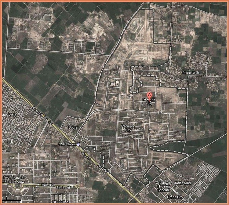 Satellite Map Of Pakistan Live Lahore