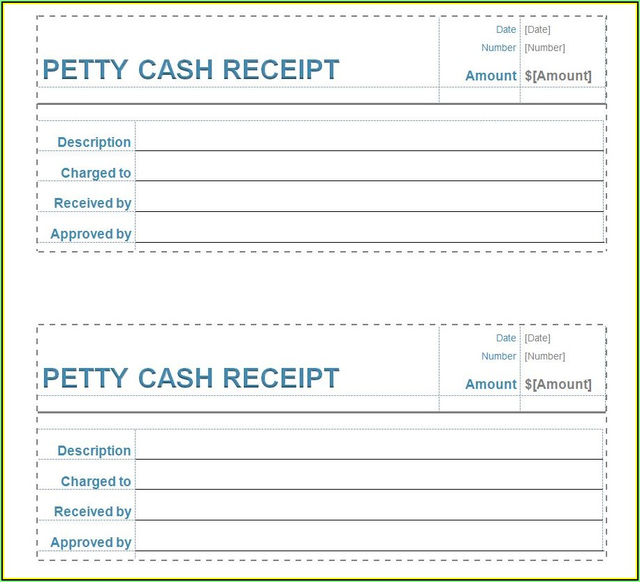 Simple Cash Receipt Sample