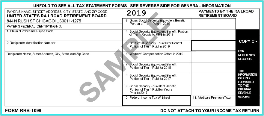 Social Security Office 1099 Forms