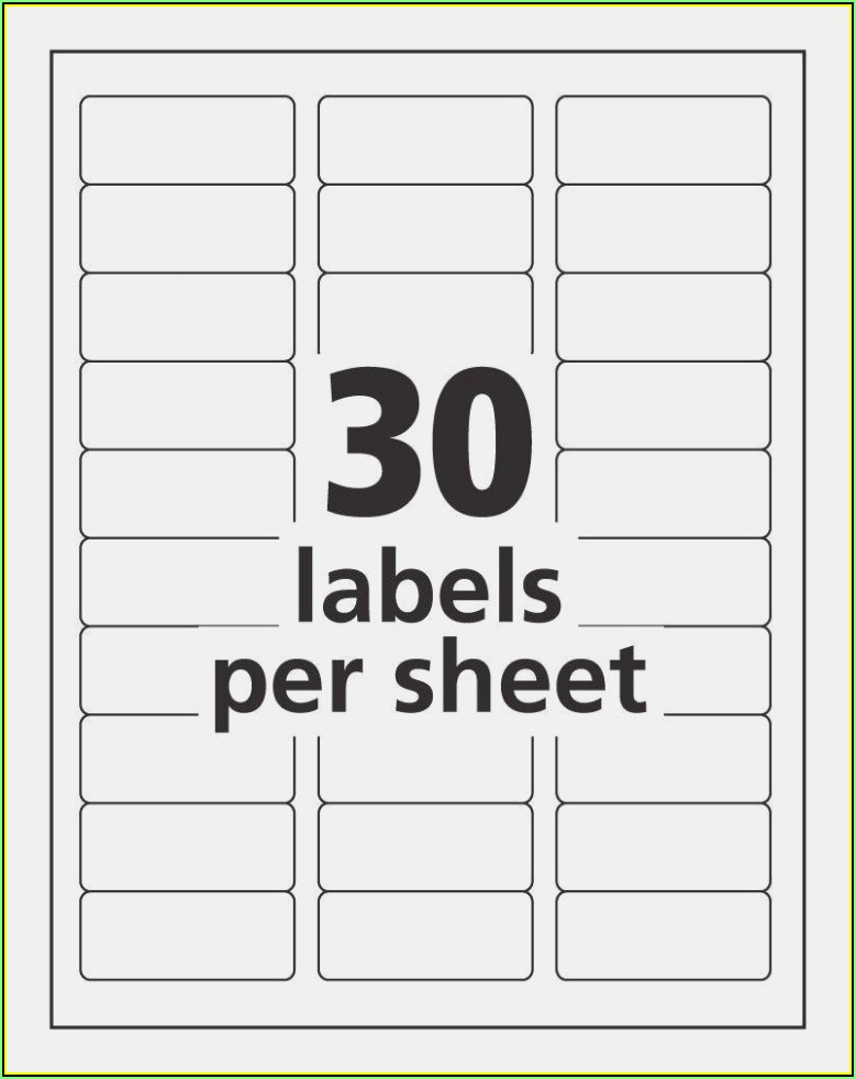Staples Labels Template