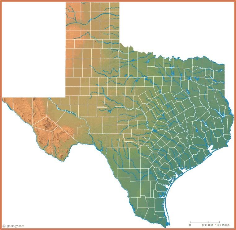 Texas Topo Map Download