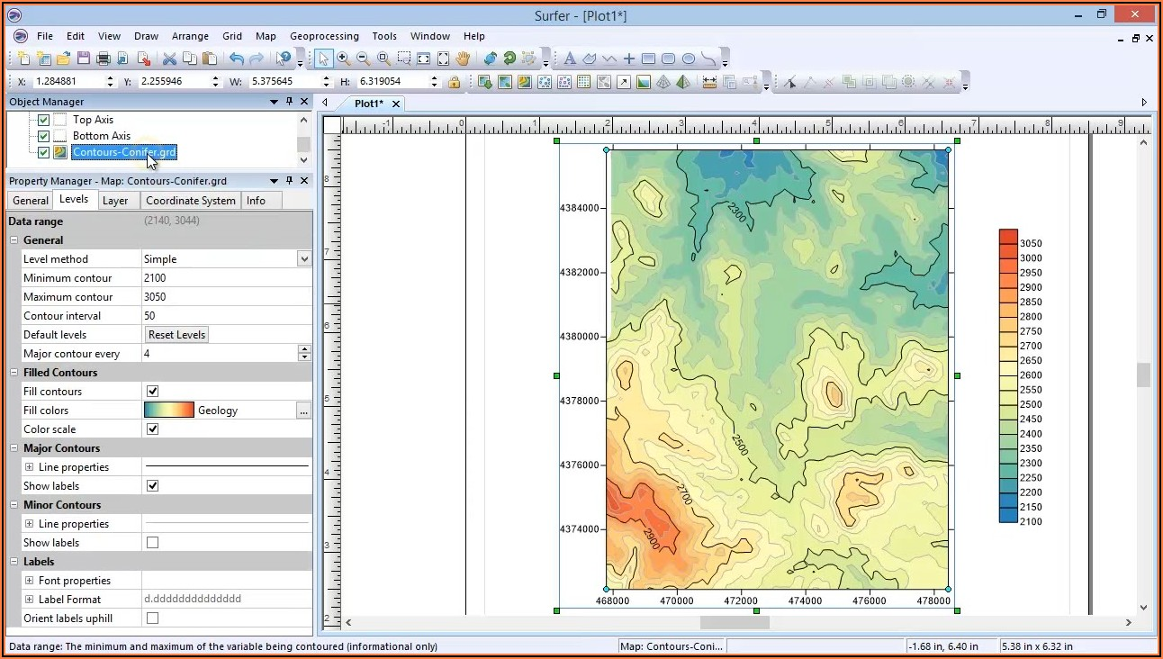 Topo Digital Mapping Software