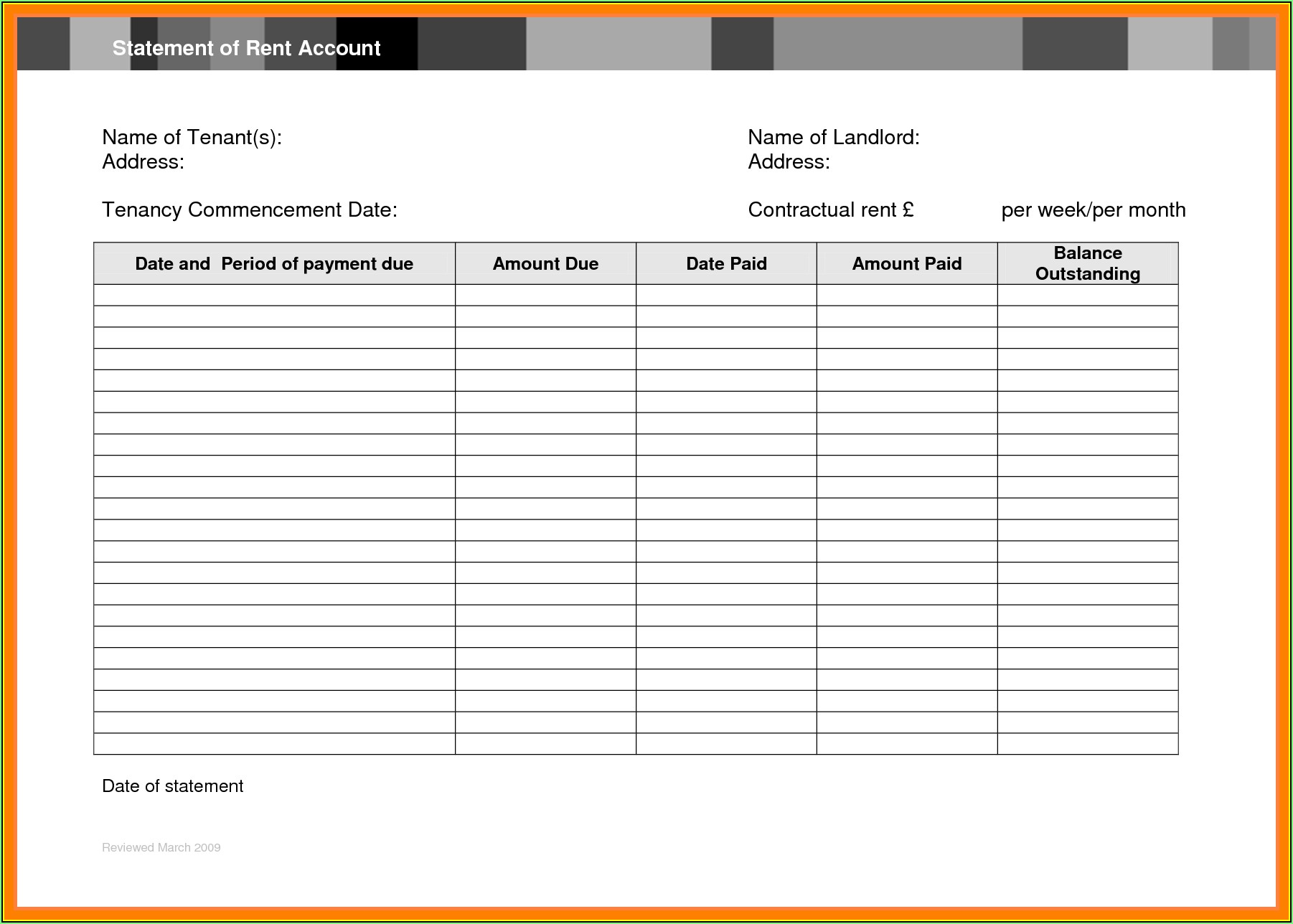 Total Compensation Statement Excel Template Free