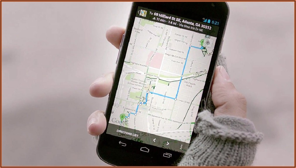 Tracking Mobile Phone On Google Maps