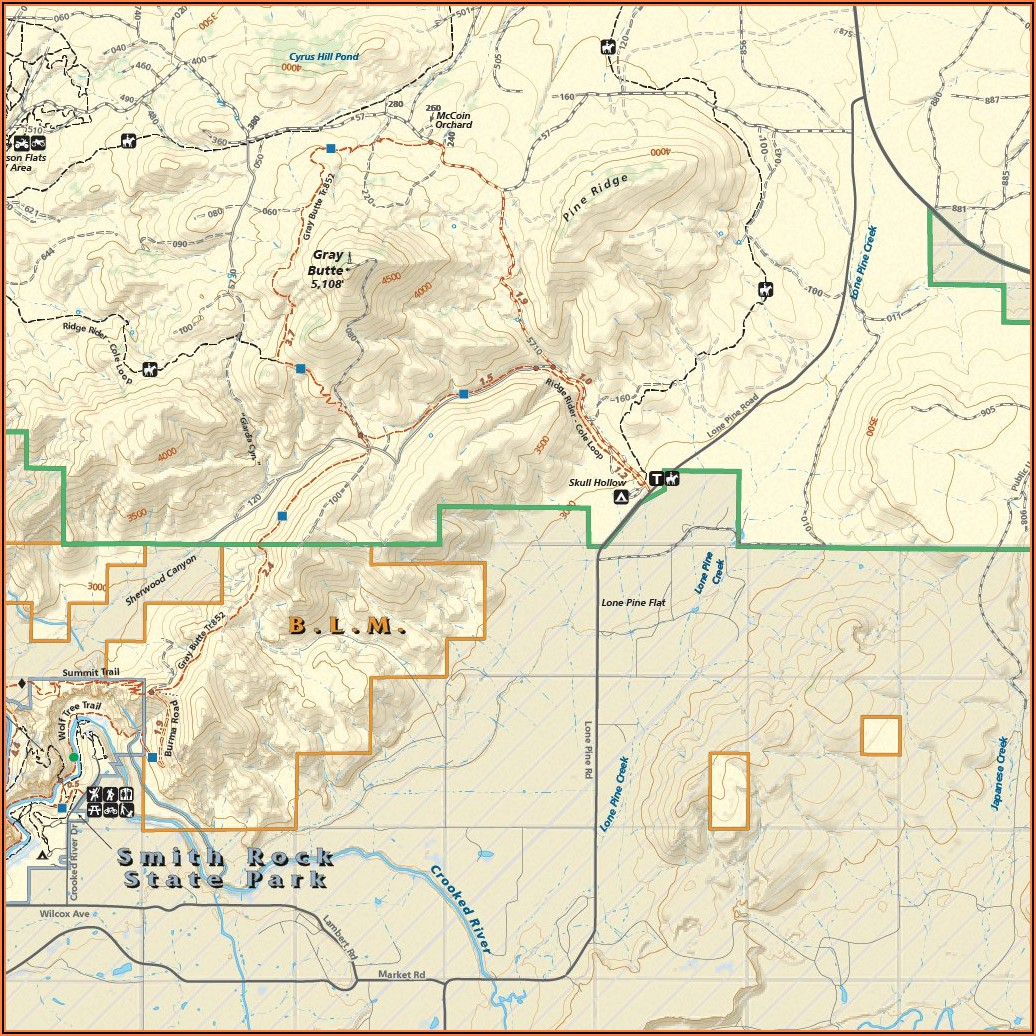 Trail Maps Sisters Oregon