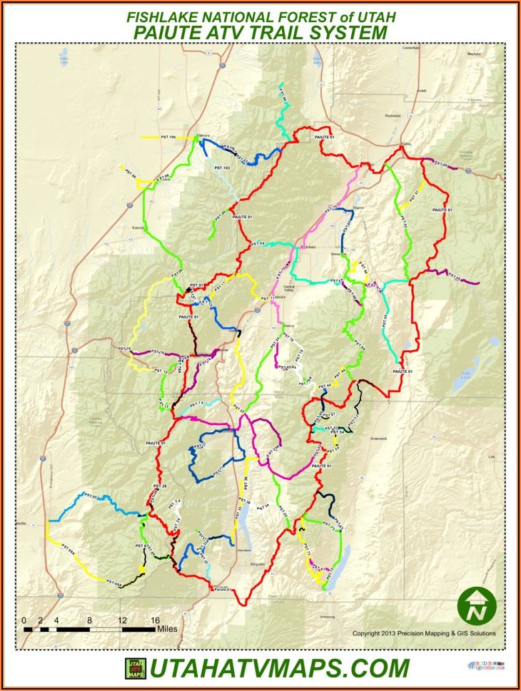 Utah Off Road Trail Maps