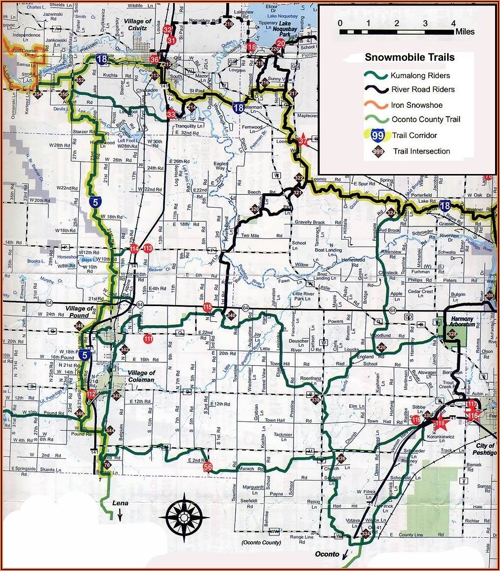 Utah Snowmobile Trail Maps