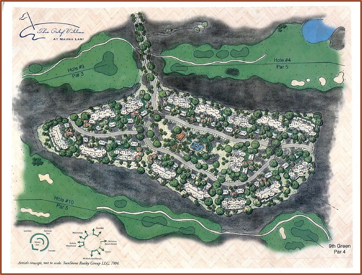 Waikoloa Beach Villas Property Map