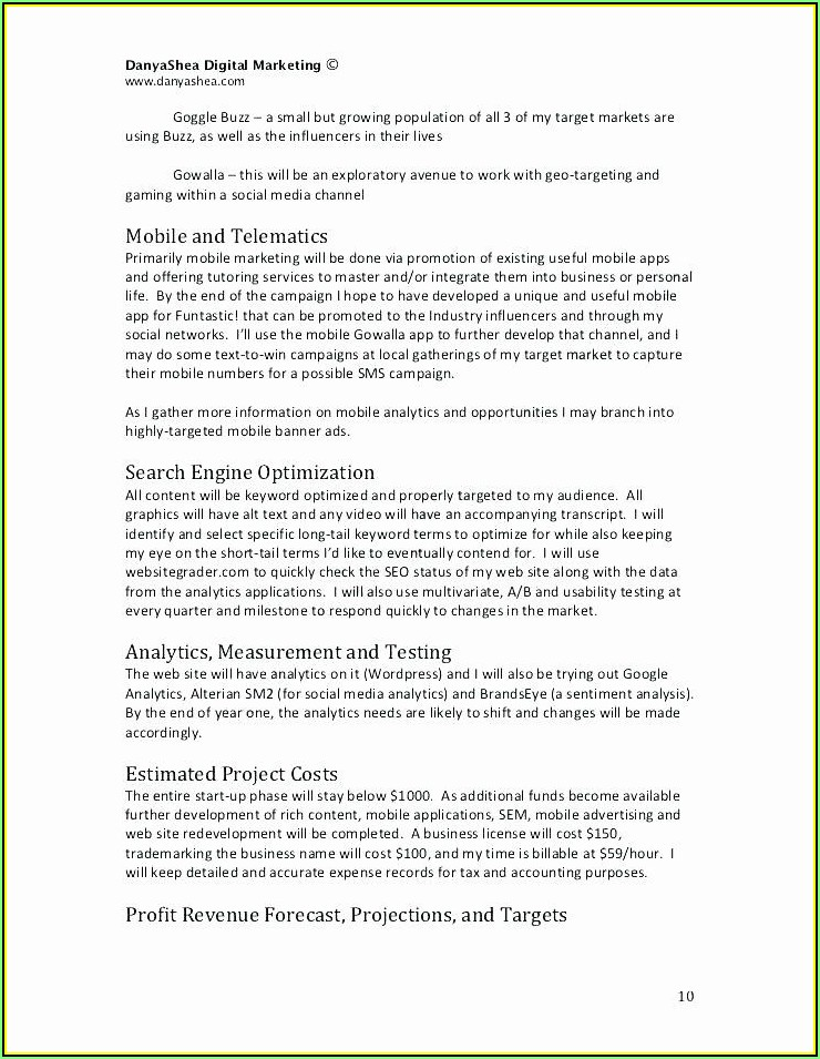 Wedding Consultant Contract Template