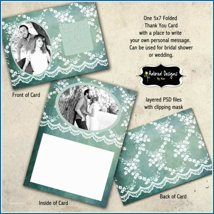 Wedding Invitation Insert Card Template