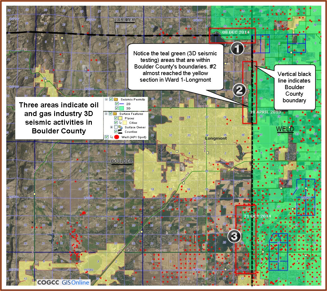 Weld County Mineral Rights Map