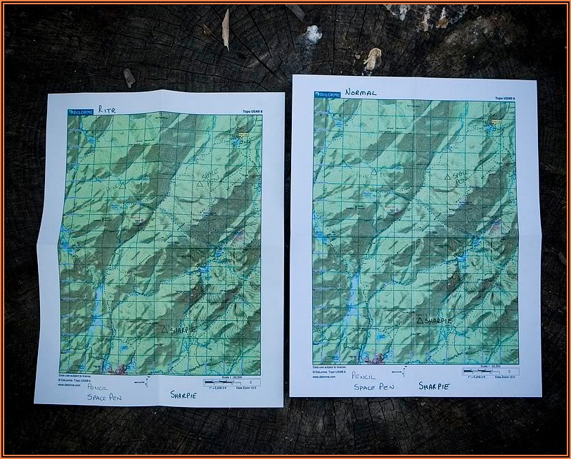 Where To Get Paper Topo Maps