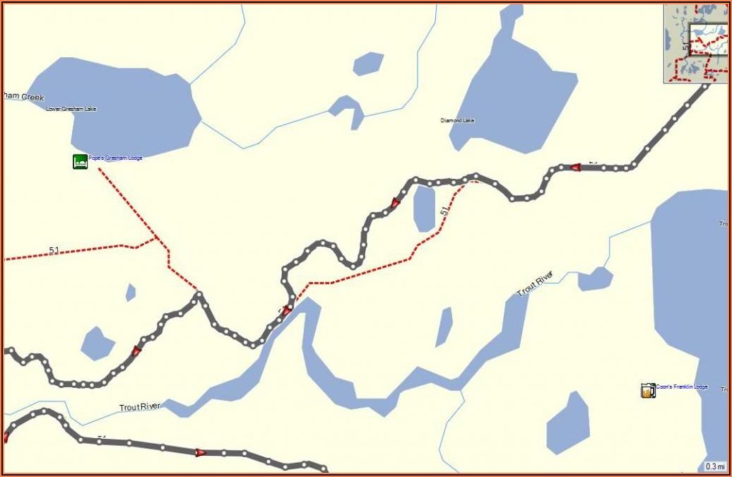Wisconsin Snowmobile Gps Maps