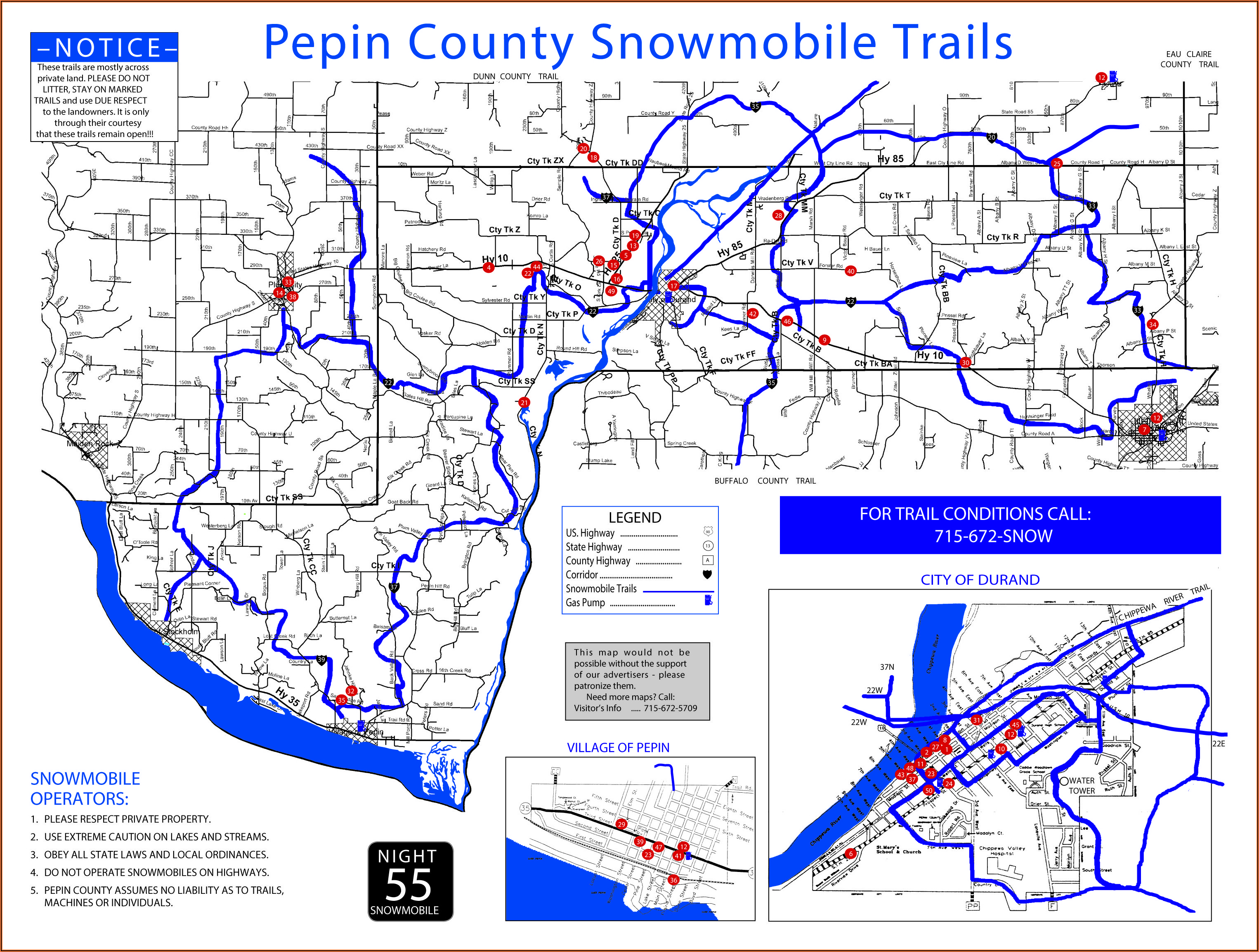 Wisconsin Snowmobile Gps Trail Maps