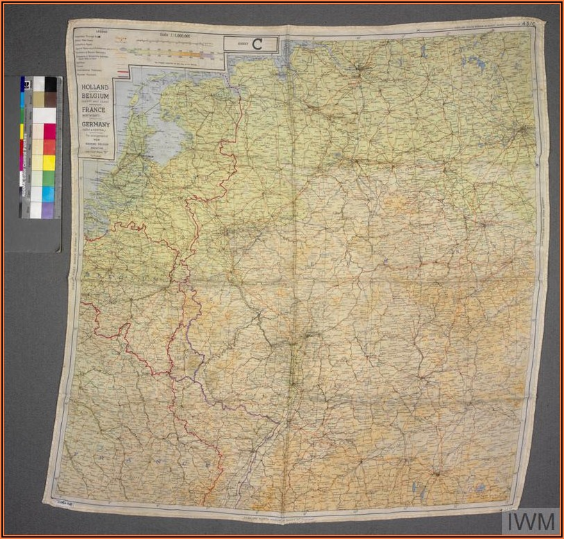 World War 2 Silk Maps For Sale