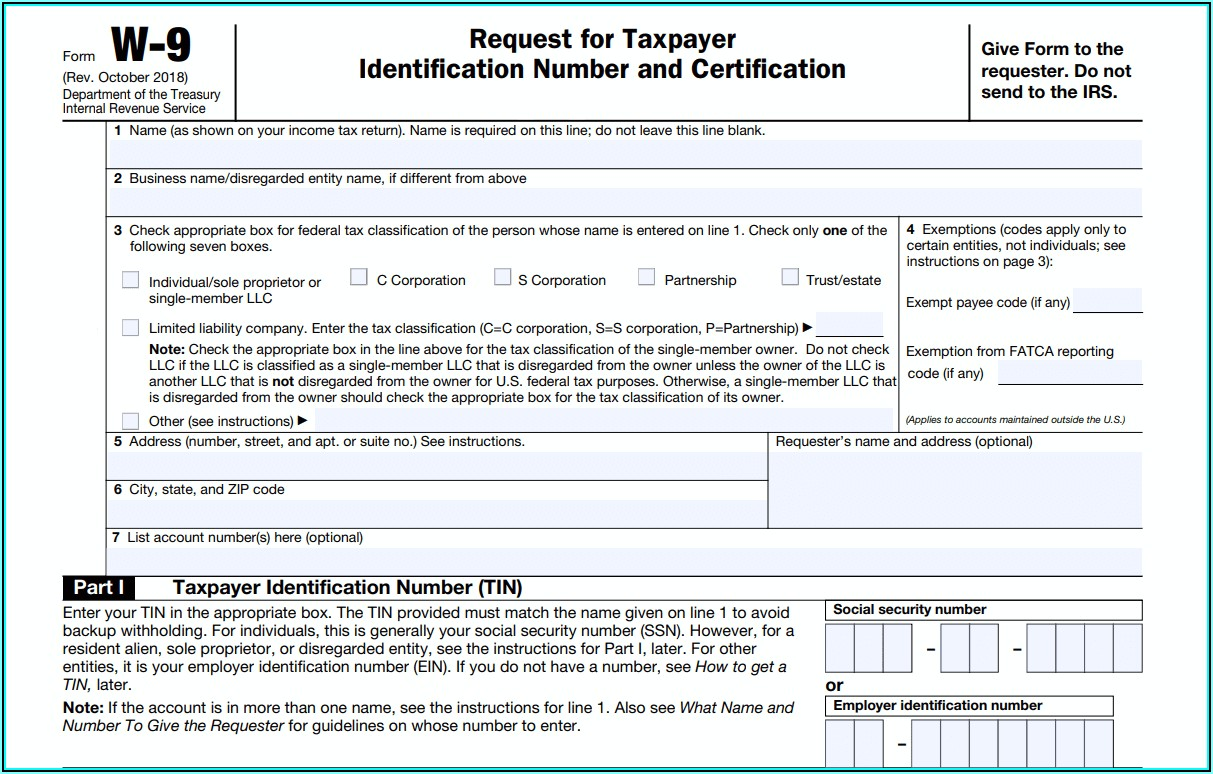 Www.irs.gov Form W 9