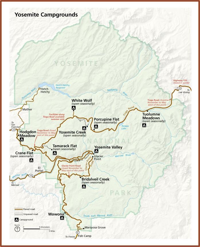Yosemite Hiking Maps Pdf