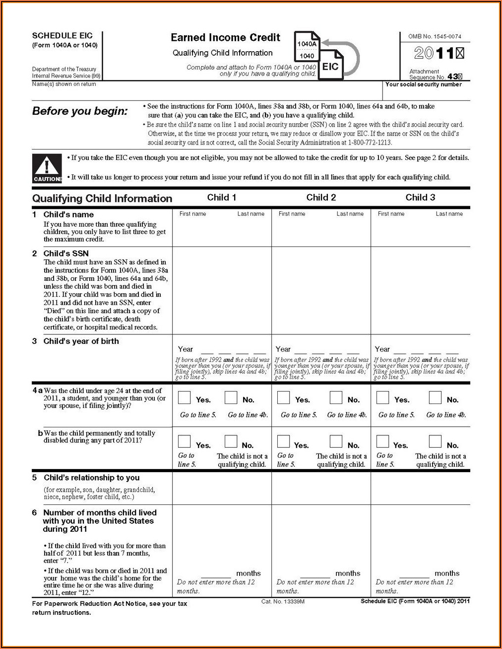 2014 Irs Form 1040a