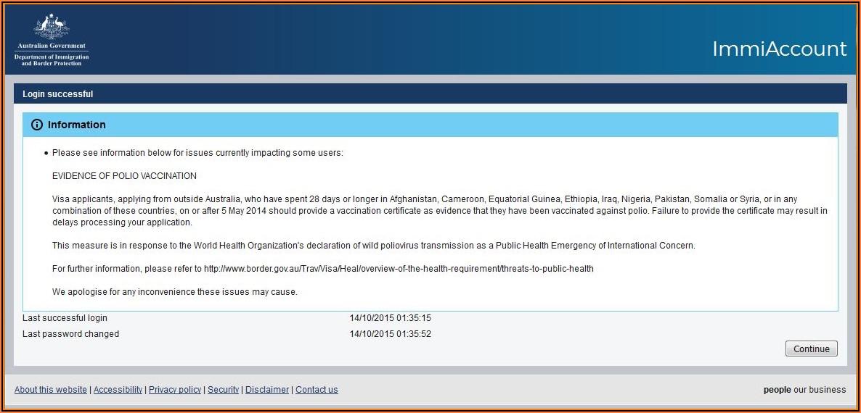 Australia Visa Form Online