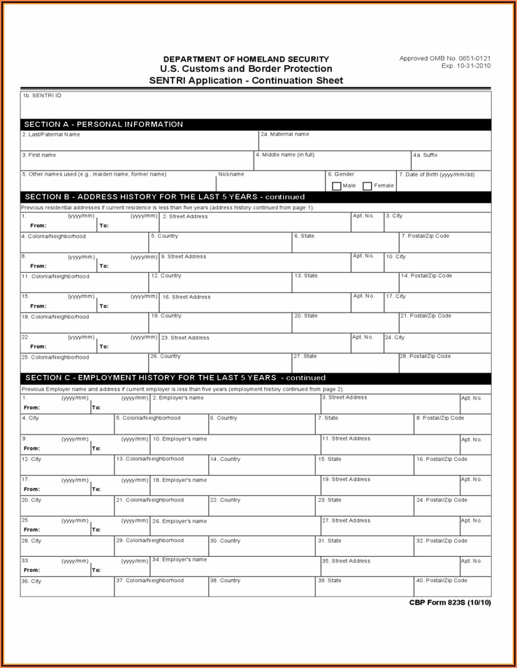 Birth Certificate Replacement Form