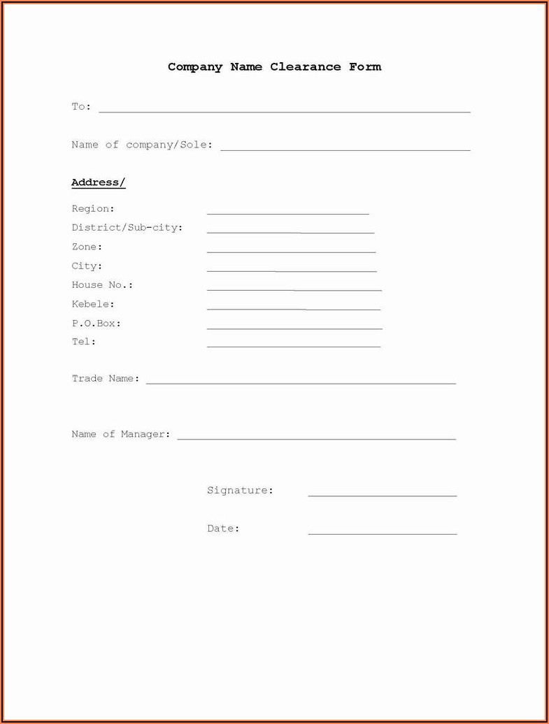Construction Lien Form