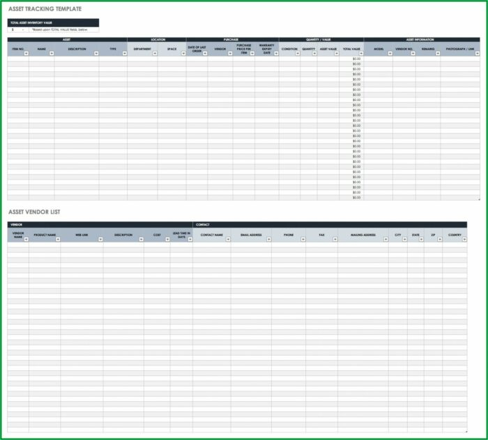 Excel Inventory Template With Photo