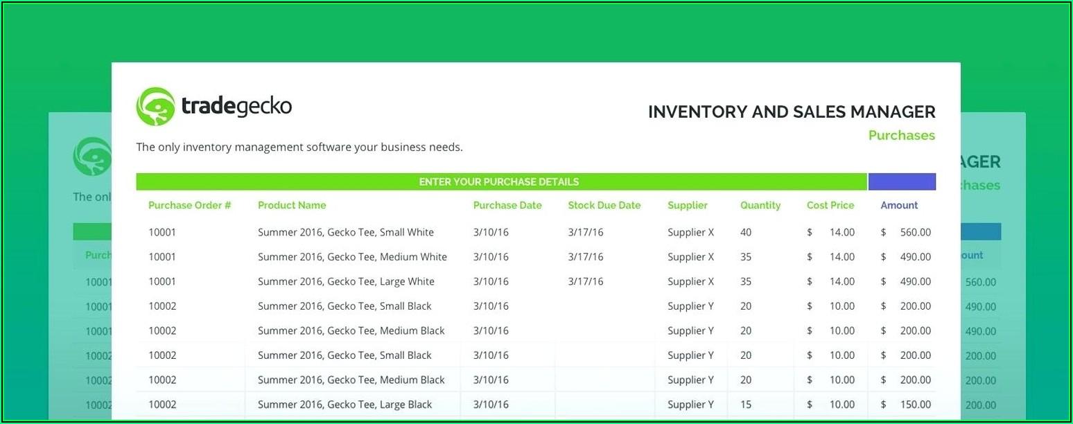 Farm Inventory Spreadsheet Template