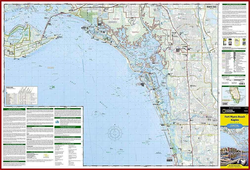 Fort Myers Beach Florida Map