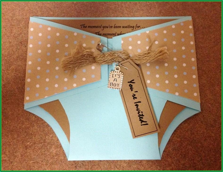 Free Diaper Party Invitation Templates