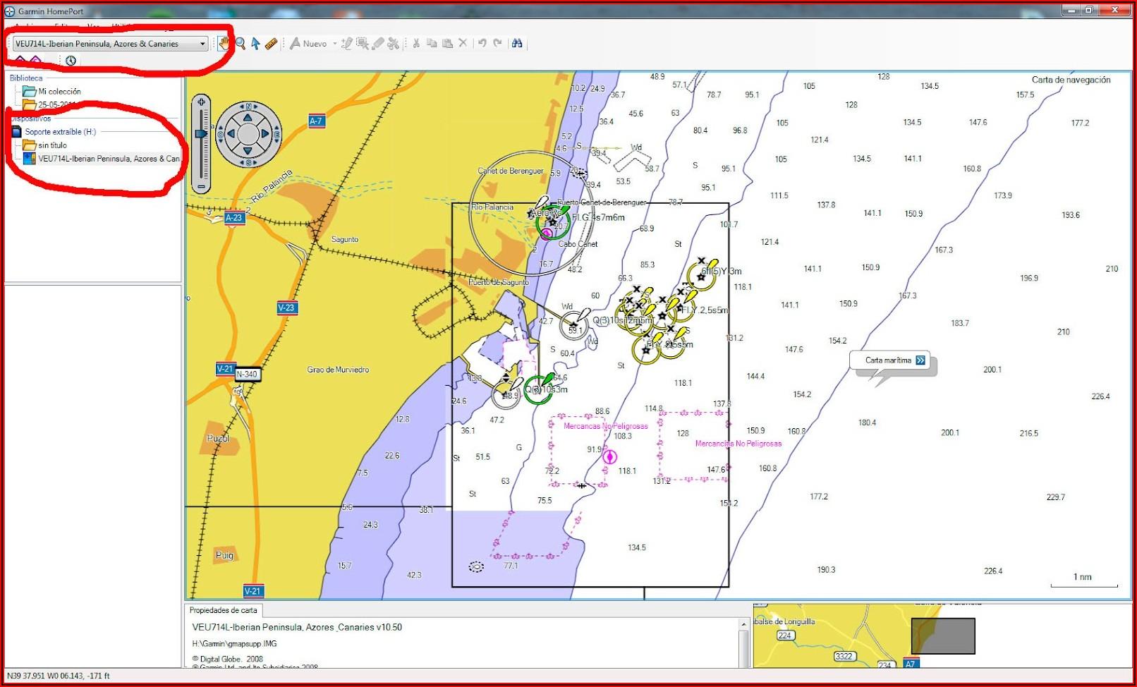 Garmin Mapsource Bluechart